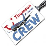 THOMSON AIRWAYS 757 Crewtag